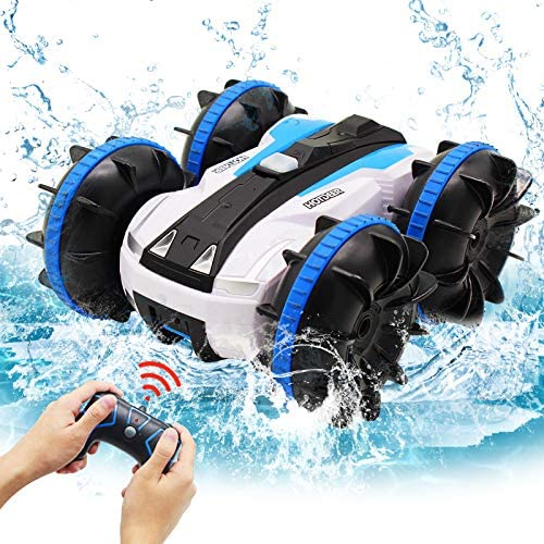 Seckton Car Toys for 6 10 Year Old Boys Girls Amphibious Remote Control Car for Kids 2 4 GHz product image