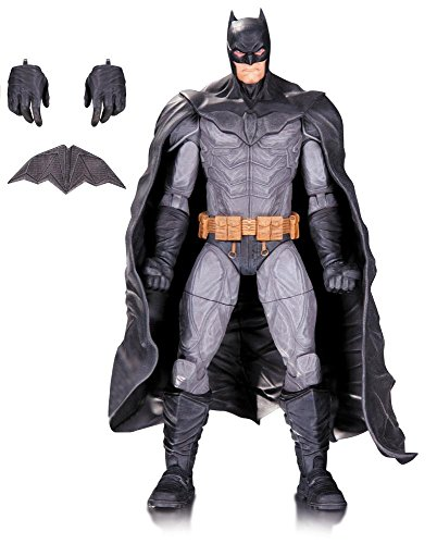 """Lee Bermejo, the acclaimed artist behind the bestselling """"Joker"""" and """"Lex Luthor: Man of Steel"""", lends his design skills to a new line of action figure, starting with four of DC's most popular characters! Each 6.75"""" action figure comes with its own a..."""