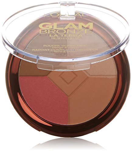 L'Oreal Glam Bronze La Terra Healthy Glow Compact Powder - 01 Light