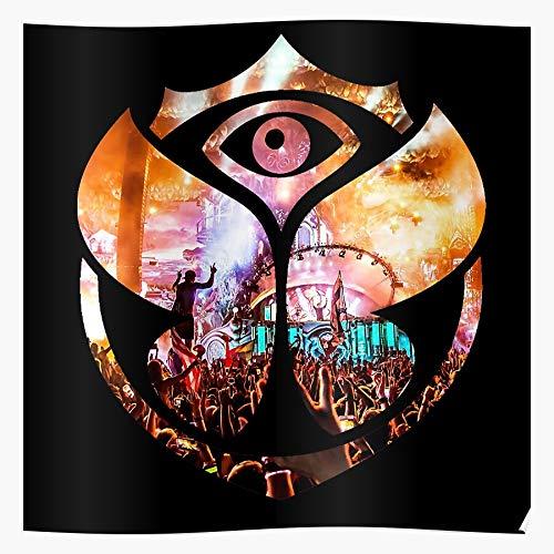 MADEWELL Tomorrowland Black Das eindrucksvollste und stilvollste Poster für Innendekoration, das derzeit erhältlich ist