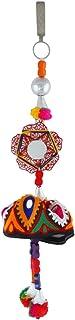 Anuradha Art Multi Colour Pom Pom Navratri Jewellery Challa for Women/Girls