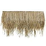 Wilai Palmendächer Strohdach Palmdach Paneele Palmschindel Palmenblätter 145 cm Reetdach für Garten, Balkon und Terrasse