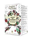 English Tea Shop Calendario dell'Avvento con Tè & Tisane | Tisane del Natale Assortite ai Sapori Festivi | Avvento Astuccio con Bustine di Tè - (25 Bustine - 37.5 grammi)
