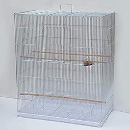 ANJJ Bird cage, large size metal starling peony breeding bird cage 77 * 46 * 90.5cm