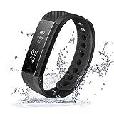 Activity Tracker, ID115 Smart Bracciale, étanche IP67 fitness Sport Watch, testeur di impulsion, Pedometro, Calorie Counter, Chiamate SMS Promemoria, Bluetooth 4.0, par iPhone Samsung Android iOS