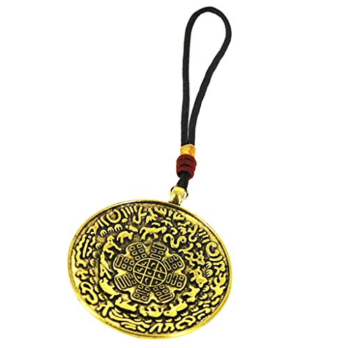 Colgante de Tibetano Budista Hecho de Cobre Colgante de Amuleto para C