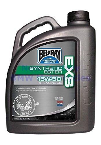Öl Motorrad Bel Ray Exs Synthese 4T 15W50 4L