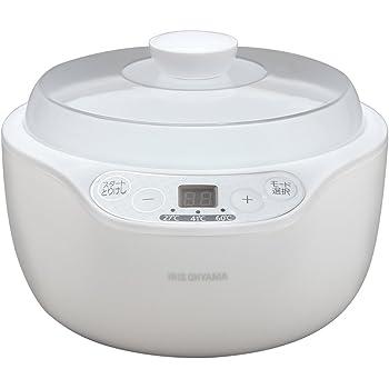 アイリスオーヤマ ヨーグルトメーカー 温度調節 機能付き ホワイト PYG-103A