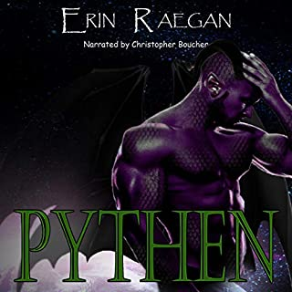 Pythen: An Alien War Romance     Galactic Order, Book 1              By:                                                                                                                                 Erin Raegan                               Narrated by:                                                                                                                                 Christopher Boucher                      Length: 8 hrs and 18 mins     8 ratings     Overall 4.4