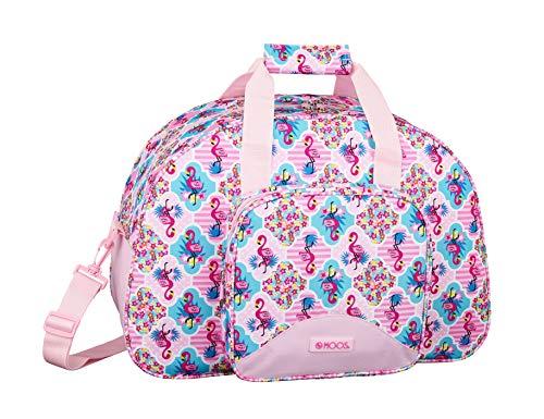Moos Flamingo Pink Bolsa deporte Bolso de viaje