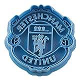 Cuticuter Manchester United Equipo Fútbol Cortador de Galletas, Azul, 8x7x1.5 cm