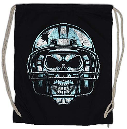 Urban Backwoods American Football Skull Turnbeutel Sporttasche