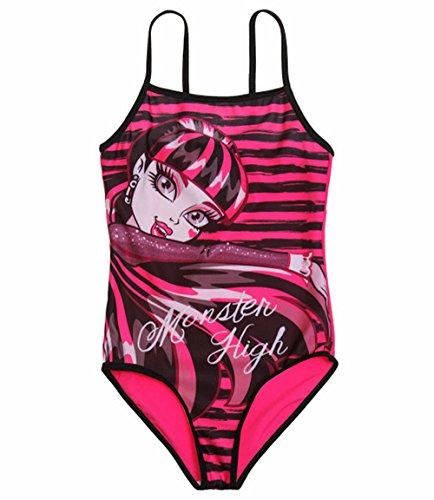 Monster High Damen Badeanzug Rosa Pink