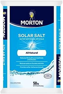 Morton Salt AMS03980 Morton Aquarium Salt, 50-Pound