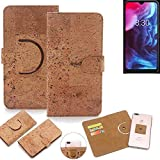 K-S-Trade® 360° Cover Cork Case Compatible With Archos