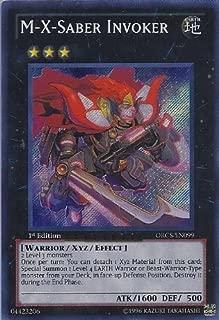 YuGiOh Zexal Order Of Chaos Single Card M-X-Saber Invoker ORCS-EN099 Secret Rare