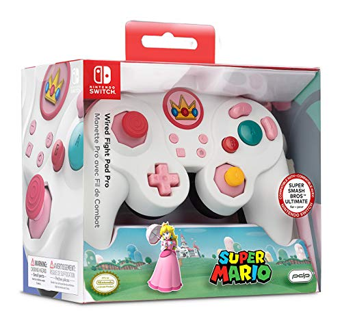 Nintendo Switch Peach Wired Fight Pad Pro [ ]
