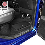 Hooke Road RAM Rear Seat Floor Storage Organizer Tray Lock Vault Box for 09-18 Dodge RAM 1500 Pickup Truck