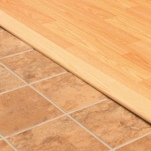 "M-D Building Products 11908 M-D Flat Door Threshold, 2-1/2 in W X 36 in L X 3/8 in H, Tan/Oak, x 2-1/2"" W x, Natural"