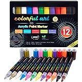 Colorful Art Co Rotuladores para pintar de pintura...
