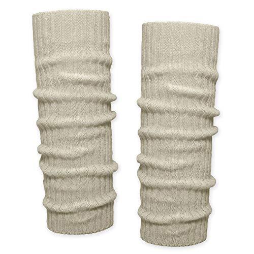 SoulCats SoulCats® 1 Paar Grobstrick Bein Stulpen unifarben in der Farbe beige