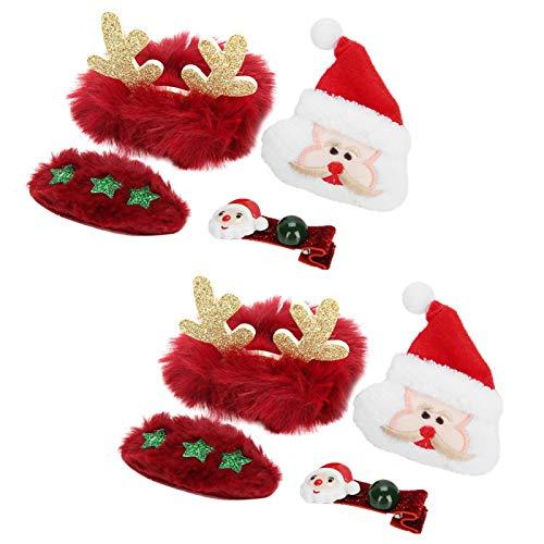 Omabeta Accesorio de pelo seguro y fiable 3 estilos para fiestas de Navidad festivals(Senior)