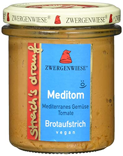 Zwergenwiese Bio Brotaufstrich streich´s drauf Meditom, 160 g