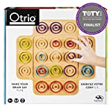 GOT WHAT IT TAKES TO FACE OFF IN A BRAINY COMPETITION? Face off in the game of Otrio, a head-to-head strategy board game! LINE UP THE PIECES FOR THE WIN: Players compete to line up three pieces of the same color my similar size; in ascending or desce...