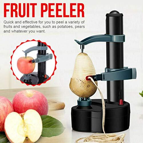 Electric Peeler Panzisun Automatic Fruit Vegetable Peeling Machine Rotato Express Multifunctional Stainless Steel PotatoTomatoes Orange Cutter