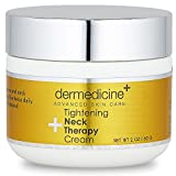 Skincare Tightening Neck Therapy Cream for Face   Anti-Aging Lotion   Helps to Firm & Tighten Loose Sagging Skin Smooth Wrinkles & Fine Lines   More Youthful Neck and Chest   2 fl oz/60 ml