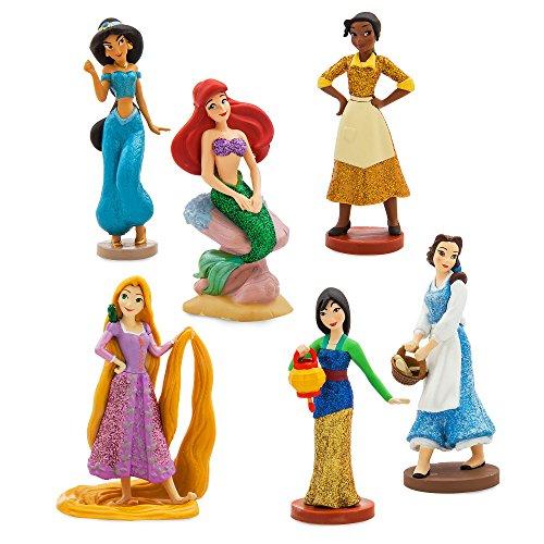 Disney Set de 6 figuritas Princesas