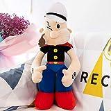 WYSTLDR Muñeco de Peluche de Super Mary Mario, Almohada de muñeca Popeye, Regalo de cumpleaños,...