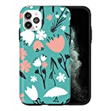 Coque de protection pour iPhone 12 Mini - Motif roses vintage - KU050_9 - Pour iPhone 12 Mini -...