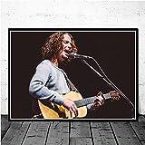 Amrzxz 1,000 Juguetes educativos para el Cerebro『Estrella de la Banda Famosa: Chris Cornell』Descomprime el Juego de desafío de Rompecabezas