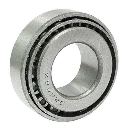 ACAMPTAR Einreihig 20x42x15mm Metall Kegelrollenlager 32004 Silber