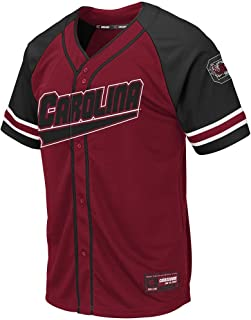 Mens South Carolina Gamecocks Wallis Baseball Jersey