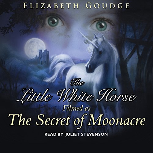 The Little White Horse audiobook cover art