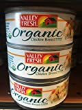 Valley Fresh Organic Chicken Breast in Water (3 Cans)