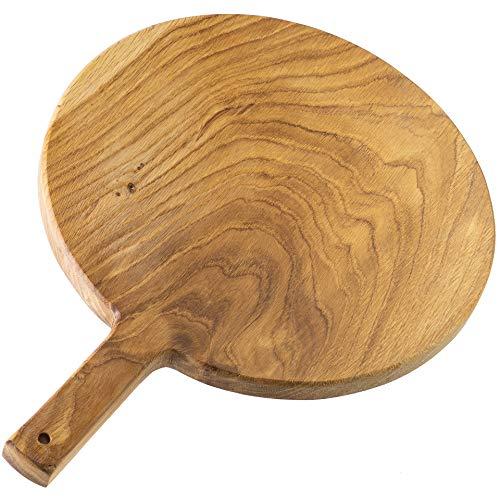 The Kitchenware Company Runde Eichenholzplatte mit Griff