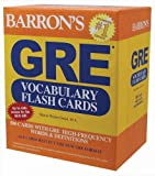 Barron's GRE Vocabulary Flash Cards