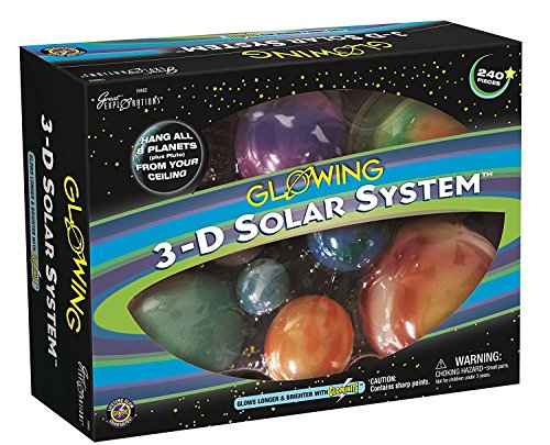 University Games 29862 - Great Explorations: Set di Pianeti del Sistema Solare in 3D [Lingua Tedesca]