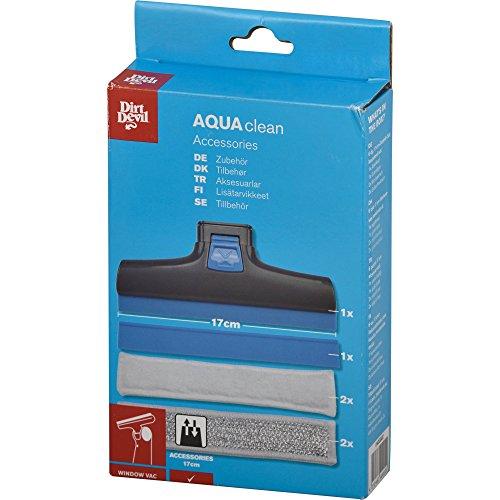 Dirt Devil 0400002 Kit de 6 Accessoires 17 cm pour Nettoyeur à vitres Aquaclean DD400