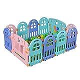 Relaxbx Parque Infantil y estación de Juegos - Zona de Juegos de Seguridad para niños - Centro de Seguridad para Actividades de Juegos para bebés - Separador de cámara para discapacitados portátil
