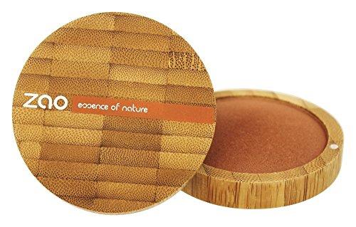 Zao Organic Makeup - polvere minerale cotto (Bronzer) bronzo rame oz 342-0,53.