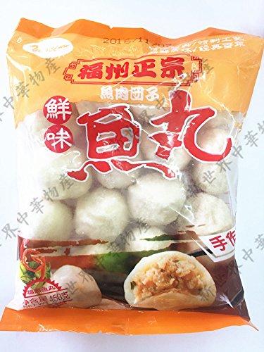 福州正宗鮮味魚丸(鮮魚肉だんご・魚団子)実店舗で大人気 冷凍のみの発送 2種類商品お任せで発送致します。