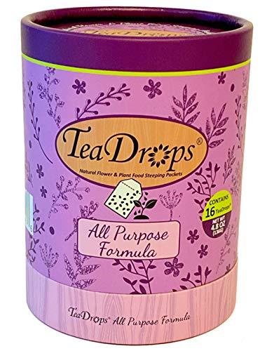 Earthworm Technologies TeaDrops Organic All Purpose Plant Fertilizer...