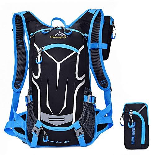 Sac à dos de cyclisme Jour réfléchissant de conception réfléchissante de sac à dos léger de sac à dos d'hydratation résistant à l'eau avec l'isolation thermique parfaite pour faire du vélo, faisant du
