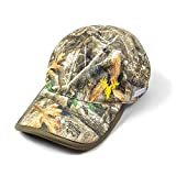 BuiltCool Men's Camo Ball Cap – Realtree Outdoor Hunting & Fishing Hat, One Size