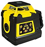 Stanley 1-77-427 Rl Hvpw Manual Double Slope Rotary Laser Level FatMax Range - Double Plumb - Reinforced Handle - Rubber Protection - Waterproof Shell - Shockproof Protected Head
