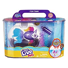 Lil' Dippers have a truly 'WOW' water activated unboxing experience! - Watch as Unicornsea comes to life and swims free from its clam shell as you dip it underwater Unicornsea's fish tank makes the perfect home to watch your Lil Dipper swim and play ...